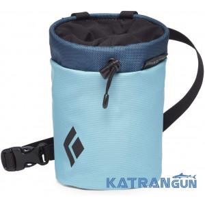 Удобный мешочек для магнезии Black Diamond Mojo Repo Chalk Bag