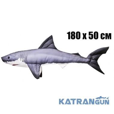 Подушка-игрушка Mega Акула (180х50 см)