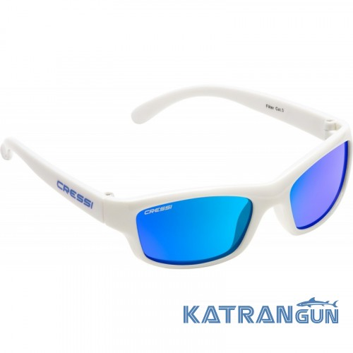 Дитячі окуляри Cressi Sub Yogi  біло-сині - купити в інтернет ... 53491847b479a