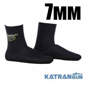 Носки для подводного плавания Marlin Anatomic Nylon Eco 7 мм