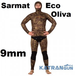 Гидрокостюм Marlin Sarmat Eco Oliva 9 мм