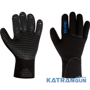 Эластичные перчатки Bare Glove 5мм