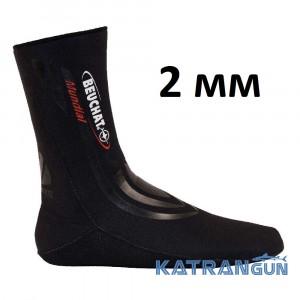 Носки для подводной охоты Beuchat Mundial, 2 мм