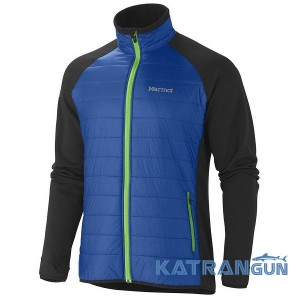 Якісна зручна кофта Marmot Men's Variant Jacket 60720, Dark Azure/Black