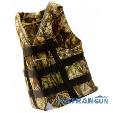Страховочные жилеты для рыбалки Bark, камуфляж, 90-110 кг