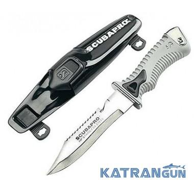 Удобный водолазный нож Scubapro K6