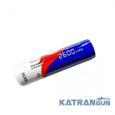 Акумулятор Ferei 18650 2600 mA / h з захистом для W151, W152, W158