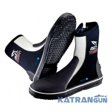 Ботинки для дайвинга IST Titanium 5 мм