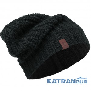 Одношарова в'язана шапка Buff Knitted Hat Gribling black