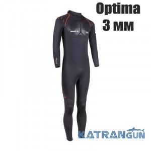 Гидрокостюм мужской для теплой воды Beuchat Optima 3/2 мм