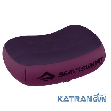 Очень легкая надувная подушка Sea To Summit Aeros Aeros Premium Pillow Large Magenta