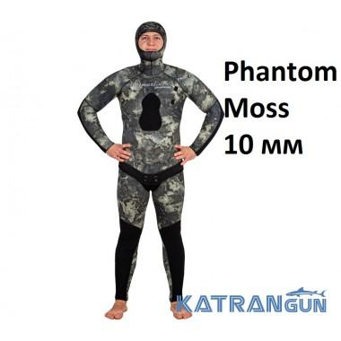 Гидрокостюм камуфляж Marlin Phantom Moss 10 мм