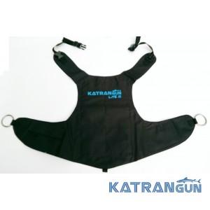 Разгрузочный жилет подводного охотника KatranGun Lite 8 Black