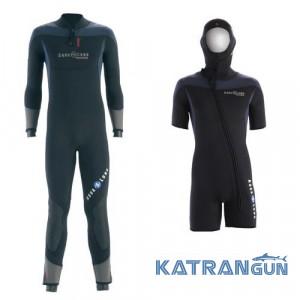 Мужской гидрокостюм для дайвинга AquaLung Balance Comfort 5+5 мм Set