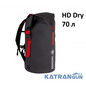 Сумка-рюкзак для спорядження водонепроникна Beuchat HD Dry 70 л