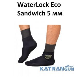 Неопренові шкарпетки для підводного полювання Marlin WaterLock Eco Sandwich 5 мм