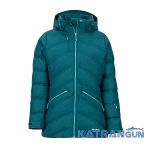 Мембранна куртка пуховик Marmot Women's Val D'Sere Jacket, Deep Teal