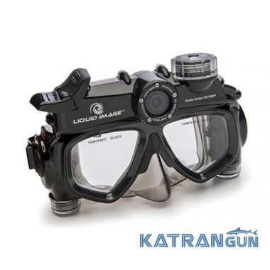 Подводная маска с видеокамерой Liquid Image Scuba Series HD 318