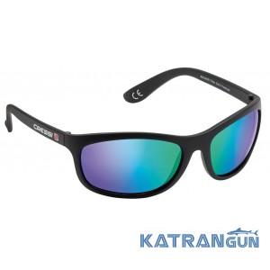 Сонцезахисні окуляри Cressi Sub Rocker дзеркальне скло, зелені