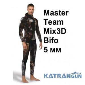 Гідрокостюм з 3D камуфляжем Omer Master Team Mix3D Bifo 5 мм