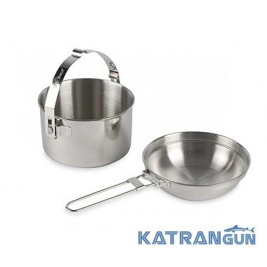 Туристичний набір посуду Tatonka Kettle 1.0 l