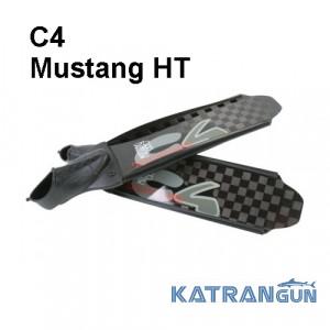 Карбоновые ласты для подводной охоты C4 Mustang HT