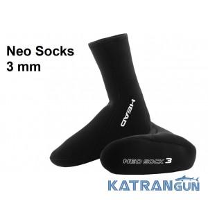 Шкарпетки для тріатлону неопренові Head Neo Socks 3 mm