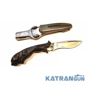 Нож для подводной охоты Aquatec Leopard