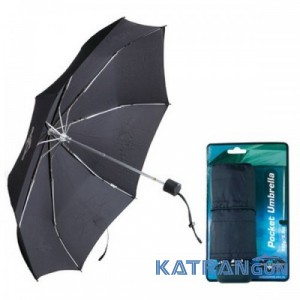 Кишенькова механічна парасолька Sea To Summit Pocket Umbrella (Black)