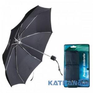 Карманный механический зонт Sea To Summit Pocket Umbrella  (Black)