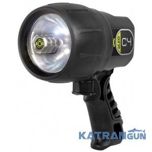 Мощный фонарь для дайвинга U.K. C4 eLED (светодиодный)