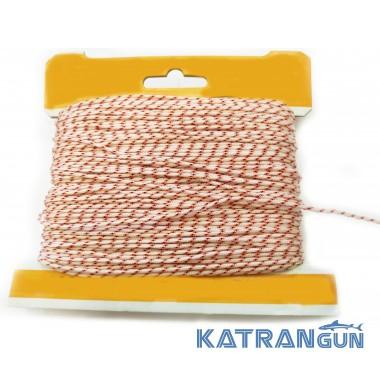 Линь для подводного ружья Katrangun 2 мм, нейлон, розовый