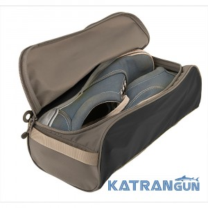 Малий чохол для взуття Sea To Summit Travelling Light Shoe Bag (Black / Grey, S)
