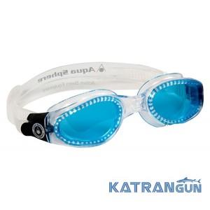 Очки для плавания в бассейне Aqua Sphere Kaiman, blue lens/transparent