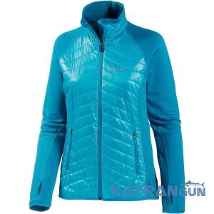 Теплая и стильная куртка Marmot Wm's Variant Jacket, Sea Breeze/Dark Atomic
