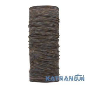 Бафф из мериносовой шерсти Buff Lightweight Merino Wool fossil multi stripes