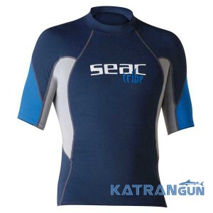 Лайкрова футболка для снорклінгу Seac Sub Raa Short Evo