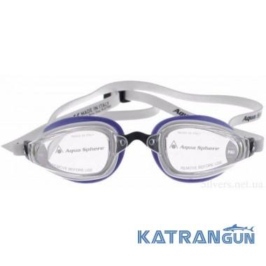 Очки для плавания Michael Phelps K180 Lady; линзы прозрачные