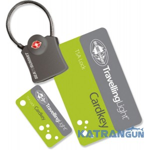 Навісний замок для сумки Sea to Summit Card key TSA lock