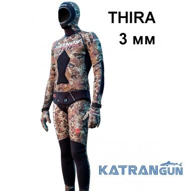 Гідрокостюм з камуфляжним малюнком Pathos Thira, 3 мм