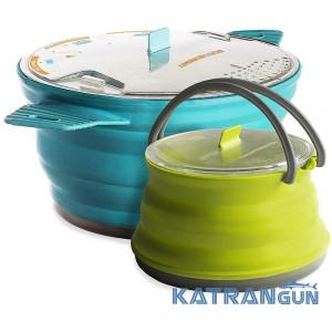 Набор посуды туристической Sea To Summit Sts Xset 33 2.8L Pot + 1.3 Ket