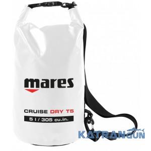 Сухий мішок Mares Cruise Dry T5 білий