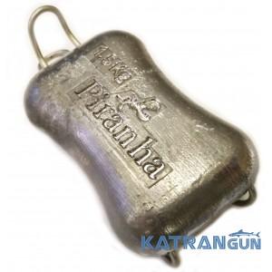 Быстросъёмный груз 1,5 кг; закруглённый; с D-кольцом
