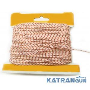 Лінь для підводної рушниці Kalkan 2 мм, нейлон, рожевий