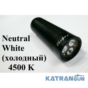 Лучший подводный фонарь для охоты Ferei w155 White Neutral