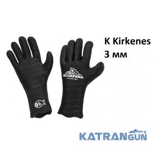 Рукавички для фрідайвінга Scorpena K Kirkenes 3 мм
