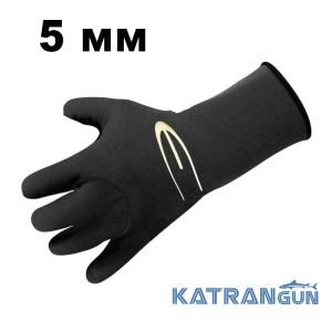 Перчатки для охоты Epsealon Caranx Black Picots 5 мм