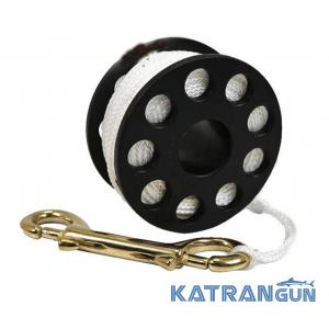BS Diver Катушка для деко-буя (линь 30м, бронзовый карабин)