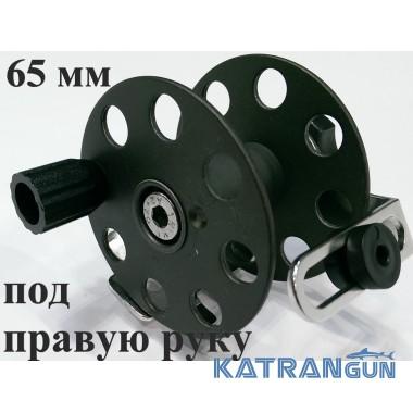 Катушки для подводного ружья Pelengas 65 мм; металлические; под Pelengas; под правую руку