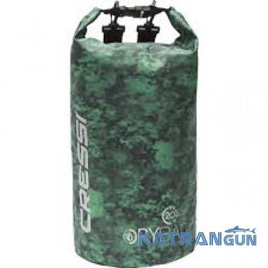 Гермомішок для підводного полювання Cressi Sub Dry Bag Green Hunter 20 л